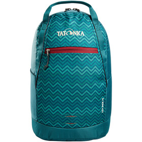 Tatonka City Pack 15 Sac à dos, teal green zig zag
